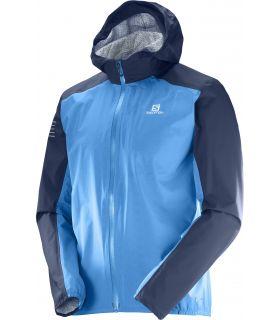 Chaqueta trail running Salomon Bonatti Wp Hombre Azul. Oferta y Comprar online
