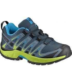 Zapatillas Trail Running Salomon Xa Pro 3d J Niños Azul