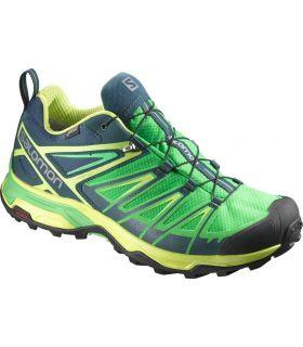 Zapatillas de trekking Salomon X Ultra 3 GTX Hombre Verde. Oferta y Comprar online