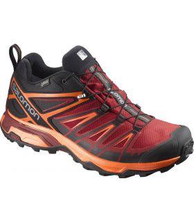 Zapatillas de trekking Salomon X Ultra 3 GTX Hombre Rojo