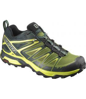 Zapatillas de trekking Salomon X Ultra 3 Hombre Amarillo. Oferta y Comprar online