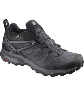 Zapatillas de trekking Salomon X Ultra 3 GTX Hombre Negro. Oferta y Comprar online