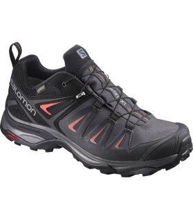 Zapatillas de trekking Salomon X Ultra 3 GTX Mujer Negro. Oferta y Comprar online