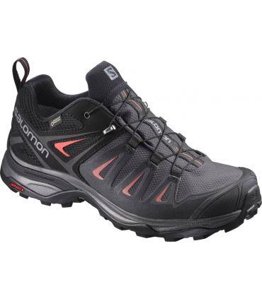 Zapatillas de trekking Salomon X Ultra 3 GTX Mujer Negro