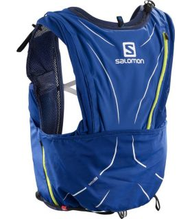 Mochila trail running Salomon Adv Skin 12 Set Azul