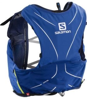 Mochila trail running Salomon Adv Skin 5 Set Azul