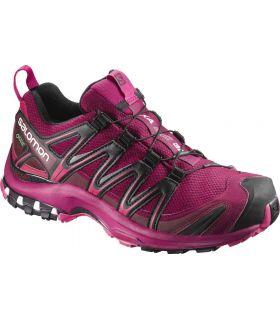 Zapatillas trail running Salomon Xa Pro 3D GTX Mujer Remolacha. Oferta y Comprar online