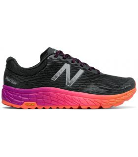 Zapatillas Trail Running New Balance Fresh Foam Hierro V2 Mujer Negro