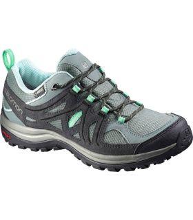 Zapatillas de Montaña Salomon Ellipse 2 GoreTex Mujer Verde. Oferta y Comprar online