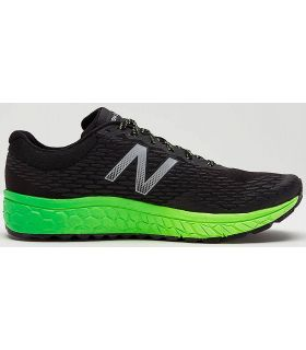 Zapatillas trail running New Balance Fresh Foam Hierro V2 Hombre Negro Verde