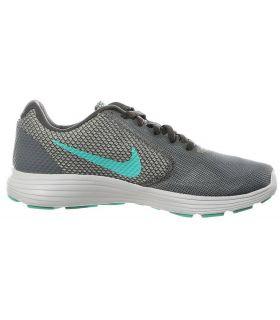 Zapatillas de running Nike Revolution 3 Mujer Gris