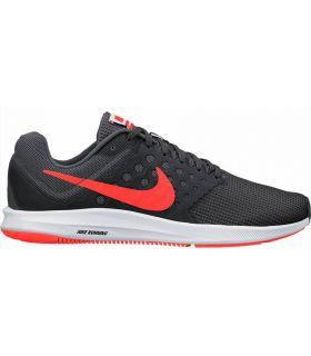 Zapatillas Running Nike Downshifter 7 Hombre Gris Rojo