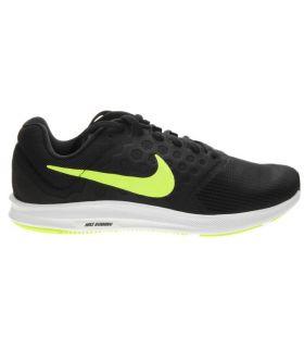 Zapatillas Running Nike Downshifter 7 Hombre Negro Verde. Oferta y Comprar online