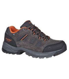 Zapatillas de Montaña Hi Tech Bandera Lite Low WP Hombre Gris. Oferta y Comprar online