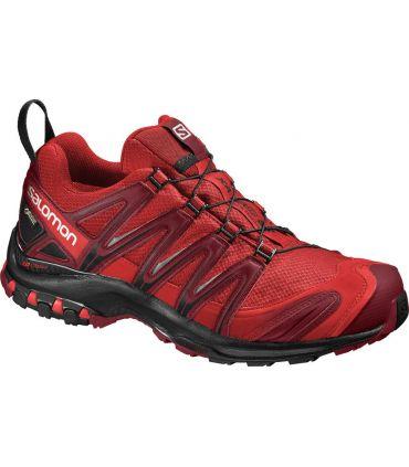 Zapatillas trail running Salomon Xa Pro 3D GTX Hombre Rojo Negro