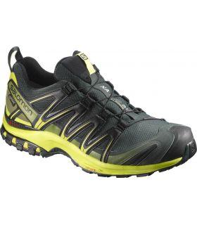 Zapatillas trail running Salomon Xa Pro 3D GTX Hombre Negro Amarillo