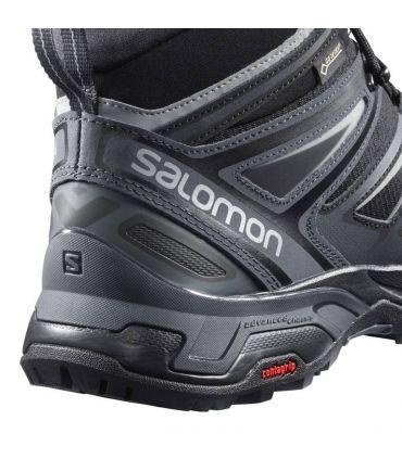 Botas de montaña Salomon X Ultra 3 Mid GTX Hombre Negro