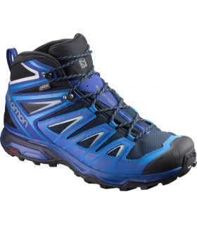 Botas de montaña Salomon X Ultra 3 Mid GTX Hombre Azul. Oferta y Comprar online