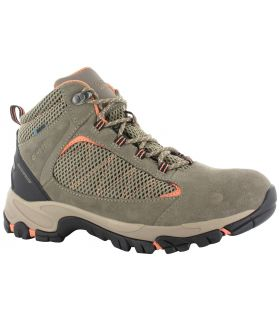Botas de Sendeismo Hi-Tec Discovery Mid Wp Mujer Taupe