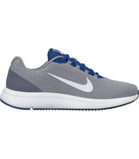 Zapatillas running Nike Runallday Hombre Gris Azul