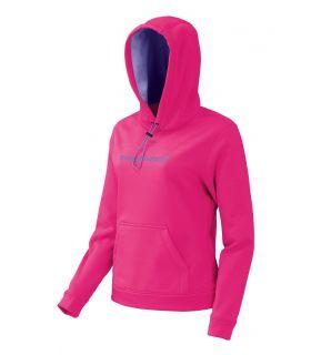 Sudadera trekking Trangoworld Poppi Mujer Rosa Fluor Morado