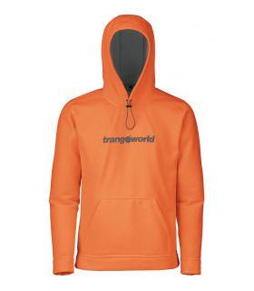 Sudadera trekking Trangoworld Login Hombre Naranja Gris. Oferta y Comprar online