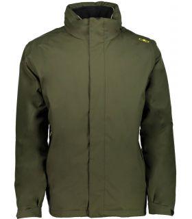 Chaqueta Desmontable Campagnolo Zip Hood Hombre Verde