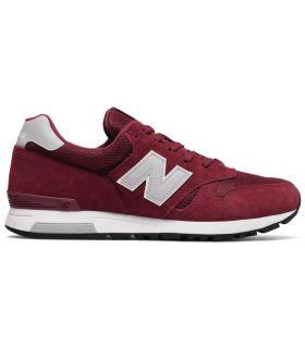 Zapatillas New Balance ML565 Hombre Rojo
