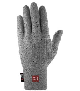 Guantes de Running Compressport 3D Thermo Seamless Running Gloves