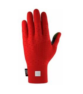 Guantes de Running Compressport 3D Thermo Seamless Running Gloves Rojo