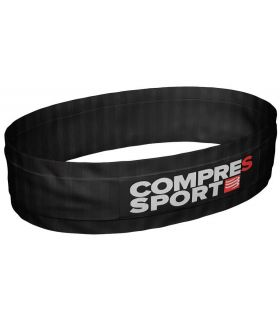 Riñonera Running Compressport Free Belt Negro