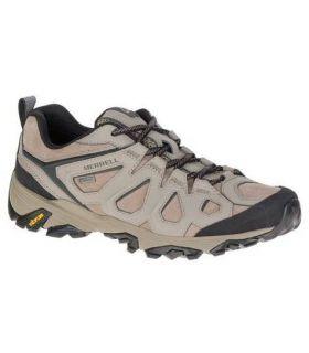 Zapatillas de Montaña Merrell Moab Fst Leather GoreTex Hombre Roca. Oferta y Comprar online