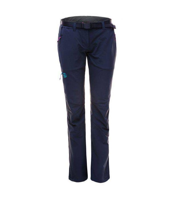 Compra online Pantalones Trekking Ternua Septent Mujer Gris en oferta al mejor precio