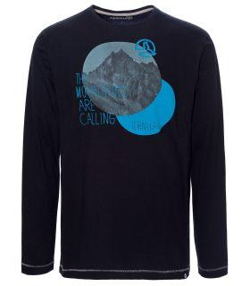 Camiseta de Montaña Ternua Torger L/S Hombre Negro