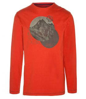Camiseta de Montaña Ternua Torger L/S Hombre Naranja