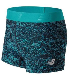 Short Trail Running New Balance Accelerate Printed Hot Mujer Azul. Oferta y Comprar online