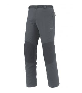 Pantalones de Montaña Trangoworld Qarun Hombre Gris Negro