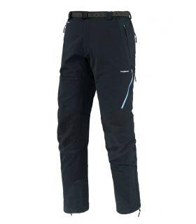Pantalones Trangoworld Prote Extreme DS Hombre Negro Azul