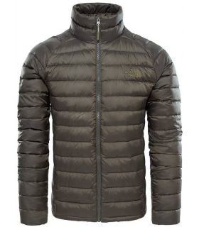 Chaqueta de Senderismo The North Face Trevail Hombre Kaki