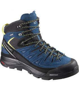 Botas de montaña Salomon X Alp Mid Ltr Gtx Hombre Azul. Oferta y Comprar online