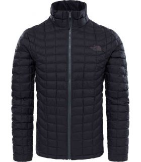 Chaqueta de fibras The North Face Thermoball Full Zip Hombre Negro Mate