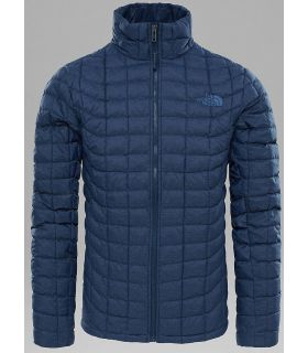 Chaqueta de fibras The North Face Thermoball Full Zip Hombre Navy Estriado
