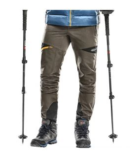 Pantalones Trekking +8000 Nordmore Hombre Kaki