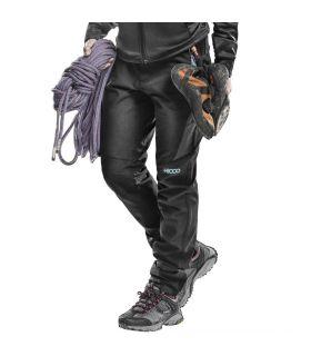 Pantalones de Montaña +8000 Zermatt Mujer Negro Azul