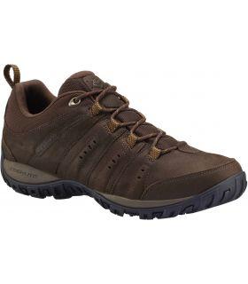 Zapatillas Montaña Columbia Woodburn Plus II Waterproof Hombre Marron. Oferta y Comprar online