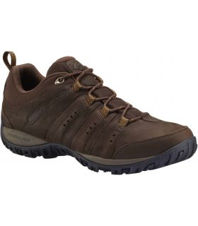 Zapatillas Montaña Columbia Woodburn Plus II Waterproof Hombre Marron