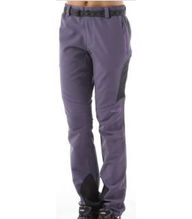 Pantalones de Montaña +8000 Zermatt Mujer Berenjena. Oferta y Comprar online