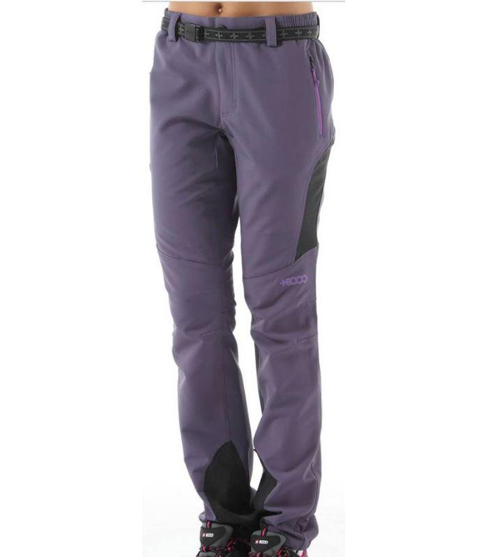 Compra online Pantalones de Montaña +8000 Zermatt Mujer Berenjena en oferta al mejor precio