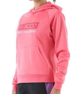 Sudadera de Senderismo +8000 Tereza Mujer Rosa