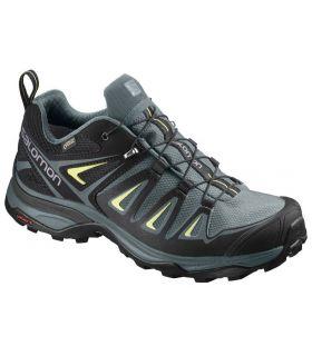 Zapatillas de trekking Salomon X Ultra 3 GTX Mujer Verde. Oferta y Comprar online